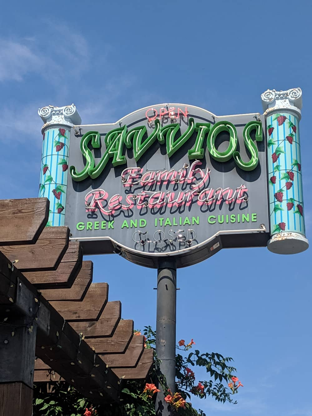 Savvios Family Restaurant is located in the heart of the Okanagan Valley's wine country.